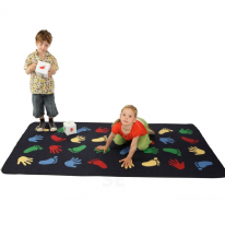 Giant Hand and Feet Playmat 100 x 200cm